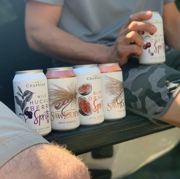 Canned Idaho Wines