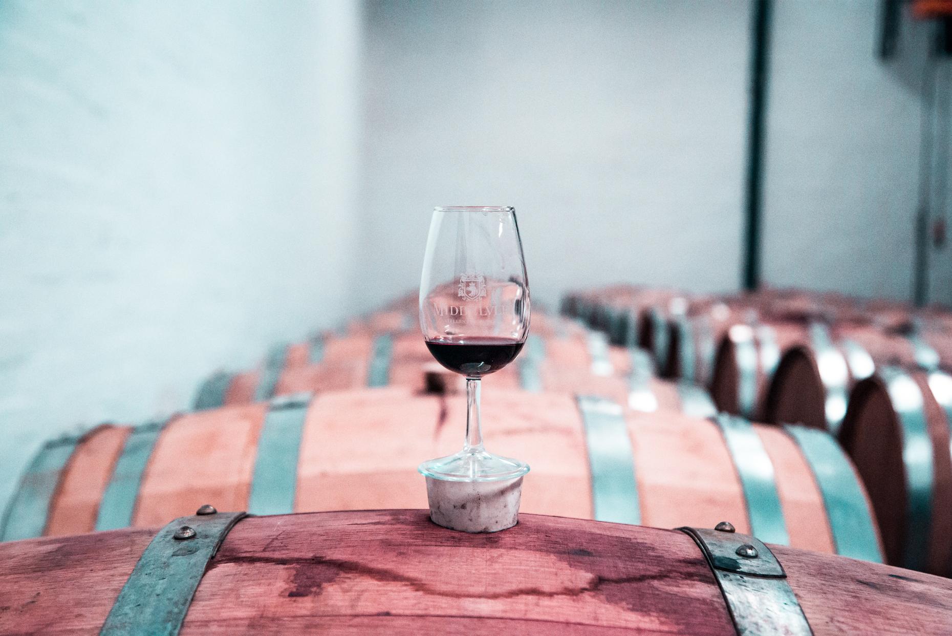 Barrels and Wine